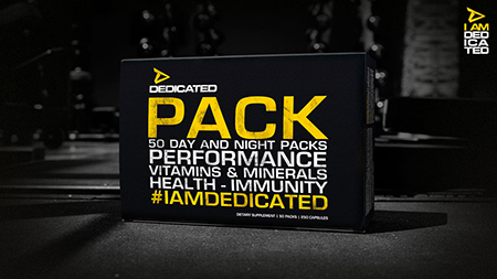 DEDICATED PACK™ von Dedicated Nutrition. Jetzt bestellen!