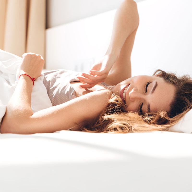 Schaffe eine ruhige Schlafumgebung