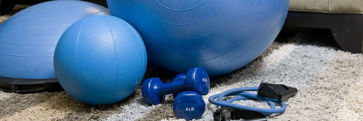 Home-Gym: das Training zu Hause