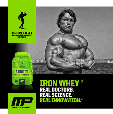 Muscle Pharm Arnold Series Iron Whey