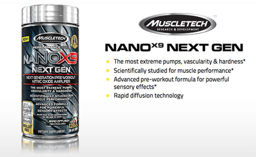 naNOX9 Next Gen von Muscle Tech
