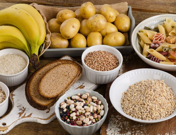 Lebensmittel mit vielen Kohlenhydrate (Fiber)