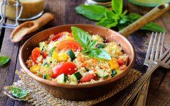Vegane Fitnessrezepte - Couscous mit Möhren