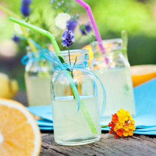 Gesunde Fitnessgetränke - Limonade
