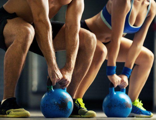 Muskelaufbau - 5 Top Übungen für dein Kettlebell Training