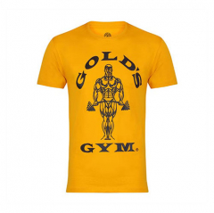 Gold's Gym Muscle Joe T-Shirt (Gold). Jetzt bestellen!