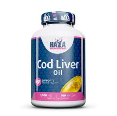 Cod Liver Oil 1000 mg 100 Softgels