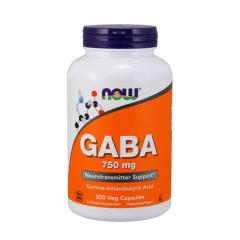 NOW GABA 750 mg 200 Kapseln