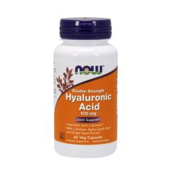 Hyaluronsäure 100 mg (Zweifache Stärke) 60 Kapseln