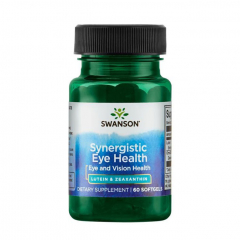 Synergistic Eye Health Lutein & Zeaxanthin 60 Softgels
