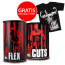 Animal Flex 44 packs + Animal Cuts 42 packs + GRATIS T-Shirt